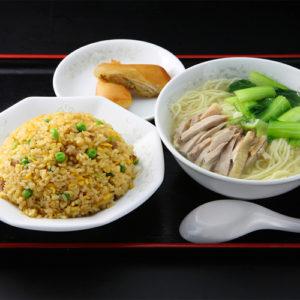 五目炒飯&鶏肉そばセット