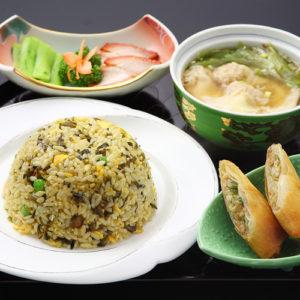 高菜炒飯&ワンタンセット