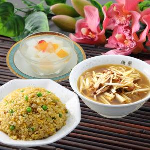 五目炒飯&葱チャーシュー麺セット
