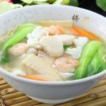 海鮮入りつゆ麺(塩味)