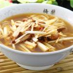 ねぎチャーシュー麺(醤油味)